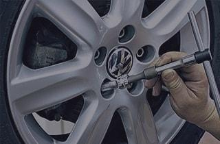 Снятие секреток с колёс