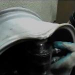 Восстановление основной геометрии литого диска