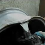 Восстановление основной геометрии бортов литого диска