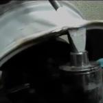 Дополнительный нагрев бортов диска для дальнейшей правки