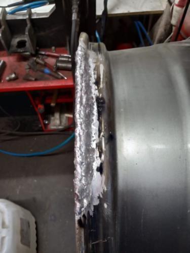 Аргоновая сварка для ремонта литого диска -1