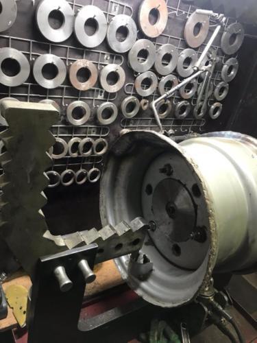 ремонт сложного стального диска -2