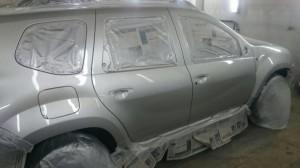 Автомобиль РЕНО - ПОСЛЕ покраски